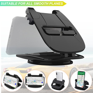 Car Holder Celular Titular Suporte 360 Rotation para o telefone Painel do carro no carro Suporte Telefone Celular Acessórios Auto
