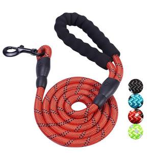 New Pet Supplies crochet corde circulaire corde de traction de chien avec ceinture réfléchissante en nylon de chien de chaîne légère réfléchissante en toute sécurité appropriée aux chiens moyens / grands