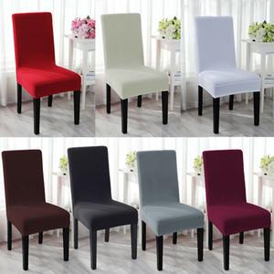Spandex Stretch-Hochzeit Bankett-Stuhl-Abdeckung-Party-Ereignis-Dekor Esszimmer Sitzbezug Möbel Sofa Slipcover Removable
