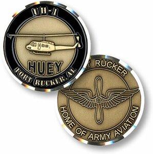 هوي مروحية UH-1 قدم. روكر جيش التحدي كوين سانت العسكرية جمع التحدي كوين هدايا الأعمال المقتنيات