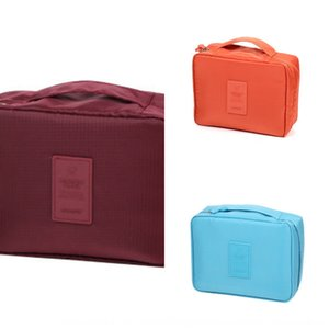 Portable Travel suit wash cosmetic storage travel Lady waterproof aircraft storage bag cosmetic bag