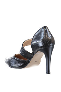 Trendyol Kroko Patterned Women 'S Classic High-Heeled Shoes TAKSS20TO0102