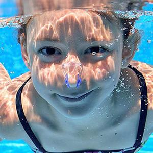 Unisex Burun klipsi kulak tıkacı Su geçirmez Yüzme Burun Klip Yumuşak Silikon Kulak Seti Surf Dalış Yüzme Havuzu Aksesuarları VT1454 bujileri