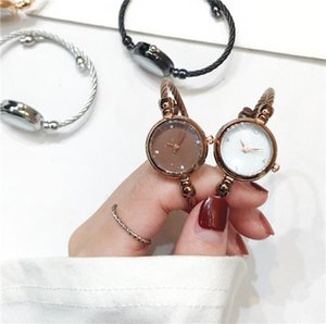 Gift Clock for Women Ladies Stainless Steel Alloy Quartz Wristwatches Japan Movement Analog Wholesale Clock Women Retro Style