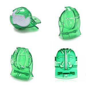 Doublure de balle de golf Scribe Transparent Balle de golf Ligne verte Clip Doublure Marqueur Modèle de stylo Marques d'alignement Outil Outils
