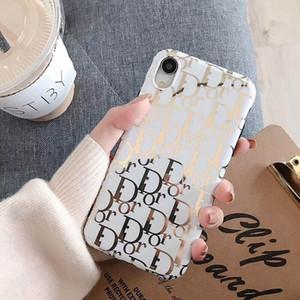 Мода буква F Корпус телефона для iPhone 11 Pro X Xs Max XR Высокое качество ТПУ Мягкая задняя крышка Чехлы для Iphone 7 8 6 6s плюс оболочки