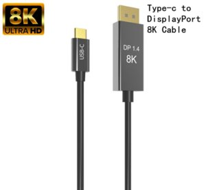 Thunderbolt 3 USB cavo C DP1.4 tipo-c per DisplayPort 1.4 8K 30Hz 4K 144HZ PVC lega di alluminio cavo per MacPro visualizzazione XDR