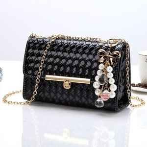2019 Bag Ma'am Oblique Satchel Woman Package Packet Chain Package Single Shoulder Portable All-match Tide Package
