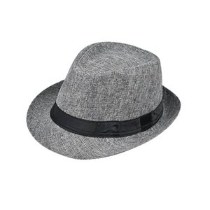 2020 classic men's top hat middle-aged and elderly summer linen sunscreen sun hat outdoor straw hat