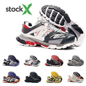 2020 Hot 3M Triple S trilha 3,0 Running Shoes Release 3 Tess Gomma Maille Jogging Designer Shoes Esporte sapatilha 35-45
