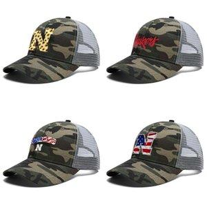 Mens Women Nebraska Cornhuskers football sunflower logo Adjustable Trucker Cap Cricket Cool Youth Fashion Baseball Hat wordmark USA flag
