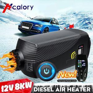 Motorlu Truck için Uzaktan Kumanda LCD Monitör webastos Hava Dizel Isıtıcı Eberspacher Parking Car Isıtıcı 12V 8000W