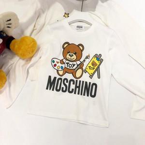 Oso hijos la manera del diseñador sudaderas Niño Niña de lujo Tops de manga larga camisetas de lujo de los niños Marca impresa letra del suéter caliente en Venta