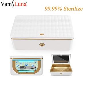 Stérilisateur UV Box avec l'ozone appareil LED désinfection UV Nettoyage de lumière germicide pour Watch Phone Masque Sanitizer