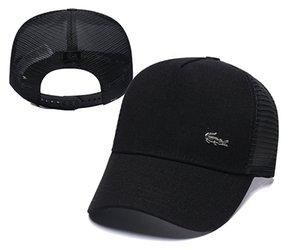 Béisbol Deporte cocodrilo estilo clásico de los casquillos de alta calidad para hombre del diseñador Golf Caps Sombrero de sol de las mujeres de lujo del casquillo del Snapback Cap mejor papá casquette