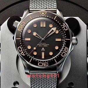 Neue Top Uhr Männer No Time to Die Limited Edition Skyfall Herren James Bond 007 Diver 300M Uhren Marke 50th Stahl Uhr Armbanduhren