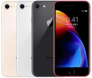 Original de Apple Iphone 8 8 Plus sin la huella digital de 64 GB / 256 GB 12.0mp IOS 13 4,7 / 5,5 pulgadas Reformado desbloqueado teléfono celular