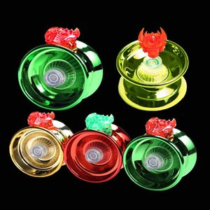 4 Colors Magic Yoyo Responsive High-speed Aluminum Alloy Yo-yo CNC Lathe with Spinning String for Boys Girls Children Kids