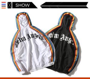 Hombres y mujeres chaquetas casuales diseño original y de la capa con capucha impresión de la letra marea de la moda sudaderas Comfort