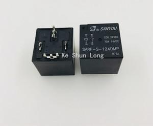 무료 배송 로트 (5pieces / 많은) 100 % 원래 새로운 산요 SARF-S-112DMP 12VDC SARF-S-124DMP 24VDC 4PINS 70A / 14VDC 자동차 릴레이
