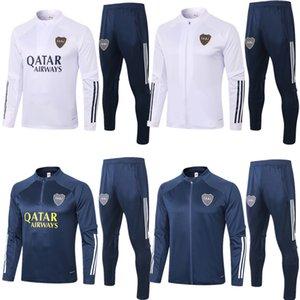 2020 2021 Boca Juniors mens jacket Benedetto CABJ 20 21 tracksuits soccer long sleeve Naindez Pavon training shirt Mas football clothes