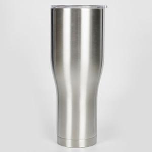 뚜껑 Costom 디자인과 40온스 커브 텀블러 허리 모양 물 컵 머그잔 여행 커피 맥주 컵 스테인레스 스틸 워터 병