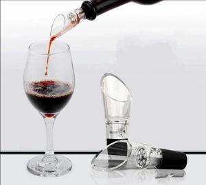 Wiederverwendbare Wine Belüfter mit Edelstahl-Sieb Robuste Mini Rotweine Pourers Wide Mouth Design Kunststoff Spout Decanter 1 4JY ZZ