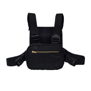 2019 Mini Männer Brust Rig Streetwear Outdoor Sports Gürteltasche Klettern Umhängetasche Telefon Geldgürtel Taktische Brust