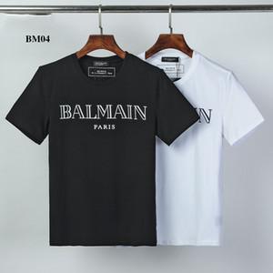 BM04 Designerluxury Shirts Hombres Mujeres ocasional del verano de las camisetas de manga corta de los hombres Brandshirts impresa letra para hombre Top Tees Streetwear 2020572K