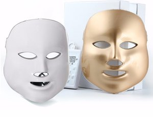 Therapy Acne Golden 7 Colors Photon Therapy Mask Hot Mask Light Machine Face Led Beauty Selling Ssorp