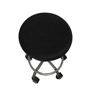 Couverture de chaise élastique Meubles Remplacement Cuisine Protecteur Couverture Polyester Polyester Siège Coussin Bar Maison