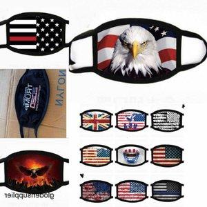 Trump 2020trump maschera bandiera degli Stati Uniti antivento maschera calda per gli uomini e le donne