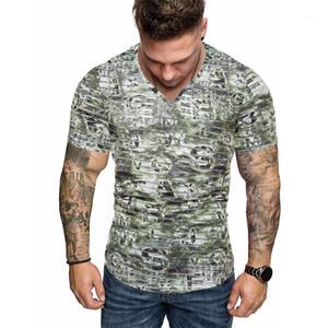 Casual con paneles de colores naturales de las camisetas de manga corta camisetas para hombre Ropa para hombre del diseñador impresa letra camisetas de la moda
