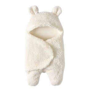 0-12M Neugeborene Babydecke Neugeborene Baby Swaddle Wrap weichen Winter Bedding Receiving Blanket Schlafsack 1pc