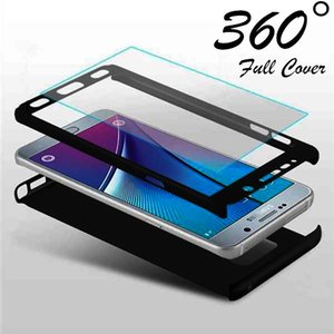 360 Full Cover Case For Samsung Galaxy A7 A6 A8 Plus A9 A750 Phone Cases For Samsung Galaxy A3 A5 A7 Case Coque