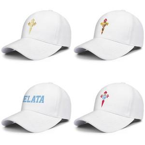 RC Celta de Vigo Celestes Erkekler Kadınlar Ayarlanabilir Snapback Şapka Gençlik Güneş Şapka Bayrak metin Flaş altın Klasik mavi Kamuflaj Eşcinsel gurur serisi