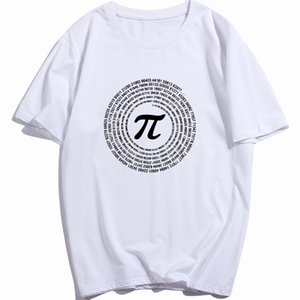 RAEEK Novelty Pi Math TShirts Mens Cotton Loose Short Sleeve Tee shirts Geek Style T shirt Nerd Casual Mans T-shirts Tops Print Tee shirt