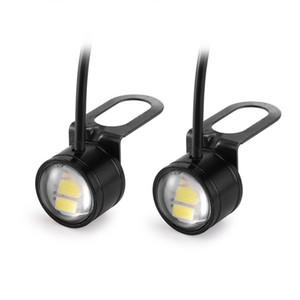 2 Pcs De Voiture LED Eagle Eye Lumières Lampe DC 12V 5W 20mm Hawkeye Reverse Backup DRL Brouillard Lumière Jour Exécution De La Voiture Feux De Signal Ampoule