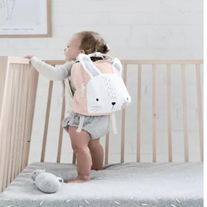 Bebek Okul Çantaları INS Karikatür Hayvan Omuzlar Sırt Sevimli Oyuncak Mini Çantası Erkekler Kızlar Çantalar Çocuklar çocuk günü hediyesi FFA3772-2
