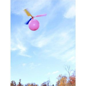 5 Pieces   Set Party Pack Filled Beach Flying Toys Outdoor Fun Sports of Balloons Children Party Helicopter Flying Toys