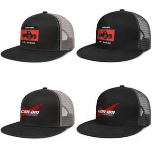 Can-am pour les hommes et les femmes de styles accrochage baseballcap dos moteur personnalisé équipe Hip brimhats Hopflat Can-Am