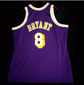 Özel Erkekler Gençlik kadınlar Vintage K B Mitchell Ness 96 97 Koleji basketbol Jersey Boyut S-4XL veya özel herhangi bir ad veya numara forması