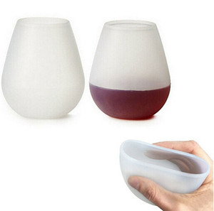 레드 와인 유리 야외 캠핑 휴대용 컵 쉽게 실리콘 고온 저항 비 페이딩 방지 가을 컵 4 2xsD1
