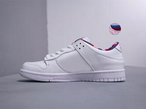 2019 Parra x SB Dunk Low hombre mujer Blazer GT blanco rosa zapatillas zapatos tamaño 36-45