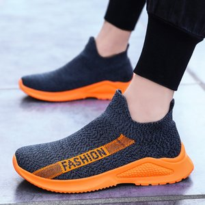 Fashion Breathable Sock Shoes Men Casual Shoes Loafers Comfortable Walking Chaussures Homme Slip on Tenis Masculino Adulto