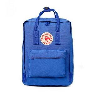Embroidery Style Fjallraven Kanken Large Capacity Canvas Bags Fashion Students Computer Bags Free Shipping #QA778