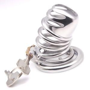 Produkte Apparate Device Sex Head Cock Rings Gourd Metal G250C Anti-Off-Keuschheits-Keuschheits-Bondage-Ring mit AKRWI