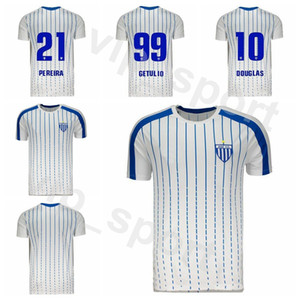 FC Avai Jersey 2019 2020 Hommes Accueil Blanc Football GETULIO Renato Silva RODRIGO Romulo Claudio Marquinhos Maillot de football Kits Uniforme S-XXL
