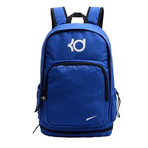 Famoso diseñador KD Marca Hombres Mujeres Mochila los bolsos de diseño de gran capacidad de formación Traveldesigner mochila Kevin Durant mochila
