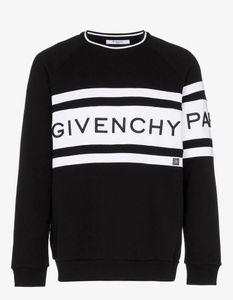 Der explosive gestickte Pullover der Männer Schwarzweiss-Spleißen lose große Versions-Art- und Weisewilder Männer Sweatshirtat